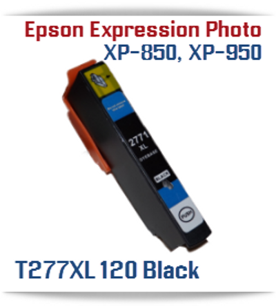 Black High-capacity Expression Photo XP-850 Small in One, XP-950 Small in One Printer Compatible Ink Cartridges