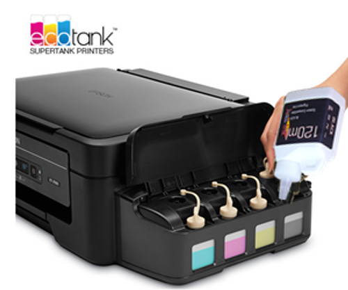 EPSON EcoTank Easy fill bottle ink
