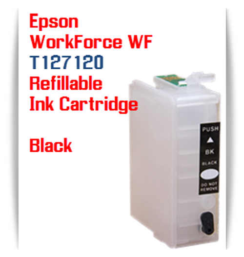 Refillable Epson WorkForce, Stylus NX Printer Ink Cartridges T127120