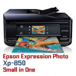 Epson Expression Photo XP-850 Small in One printer