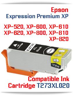 T273XL020 Black Epson Expression Premium XP Printer ink cartridge