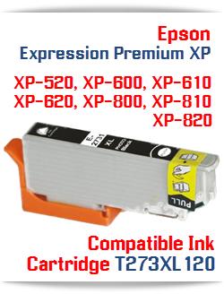 T273XL120 Photo Black Epson Expression Premium XP Printer ink cartridge