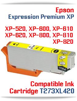 T273XL420 Yellow Epson Expression Premium XP Printer ink cartridge