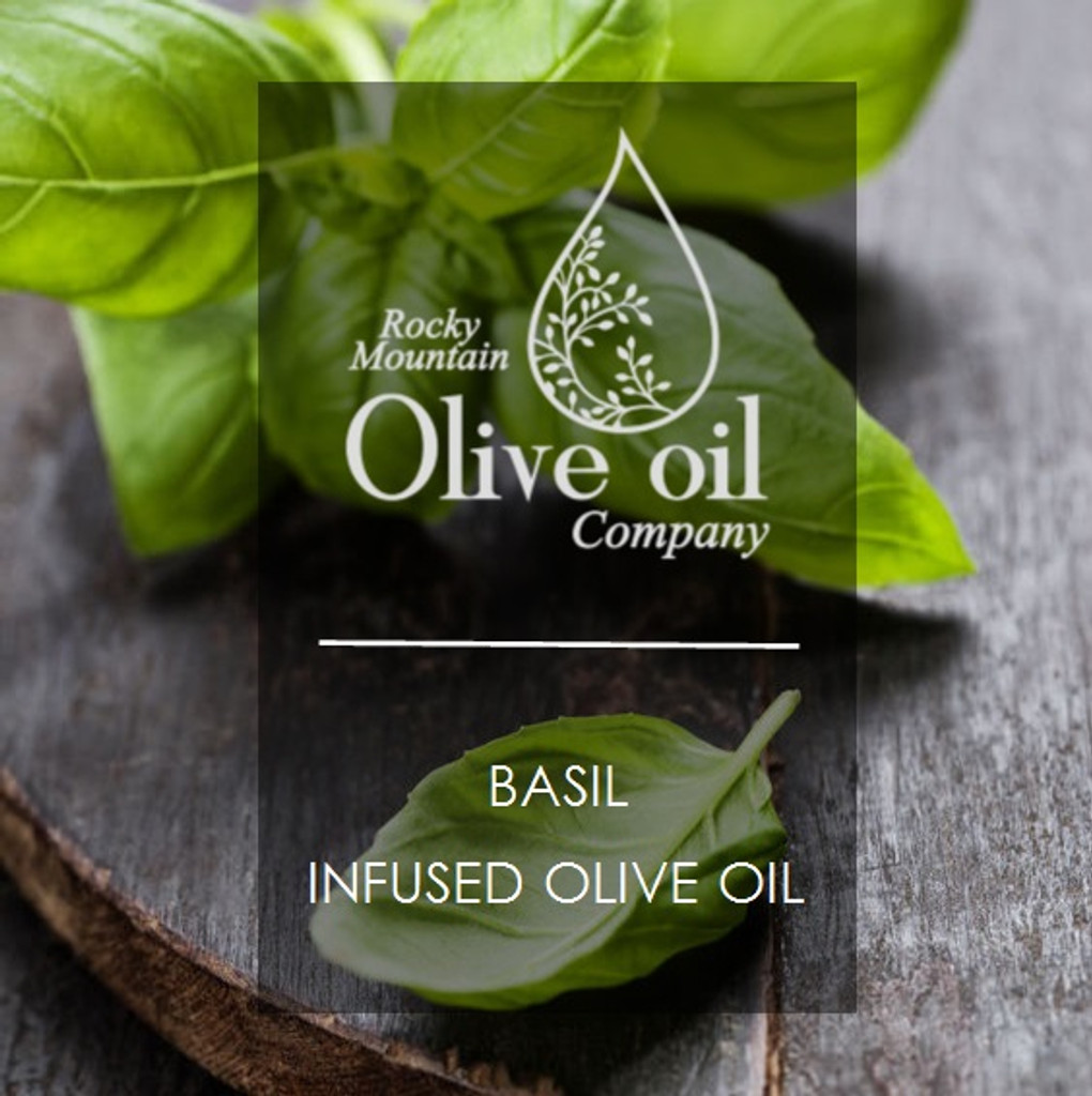Basil Infused Olive Oil 375ml
