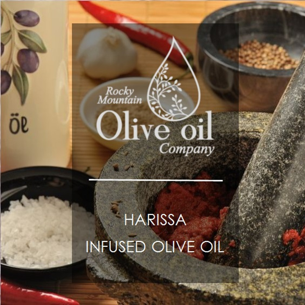 Harissa Infused Olive Oil 375ml