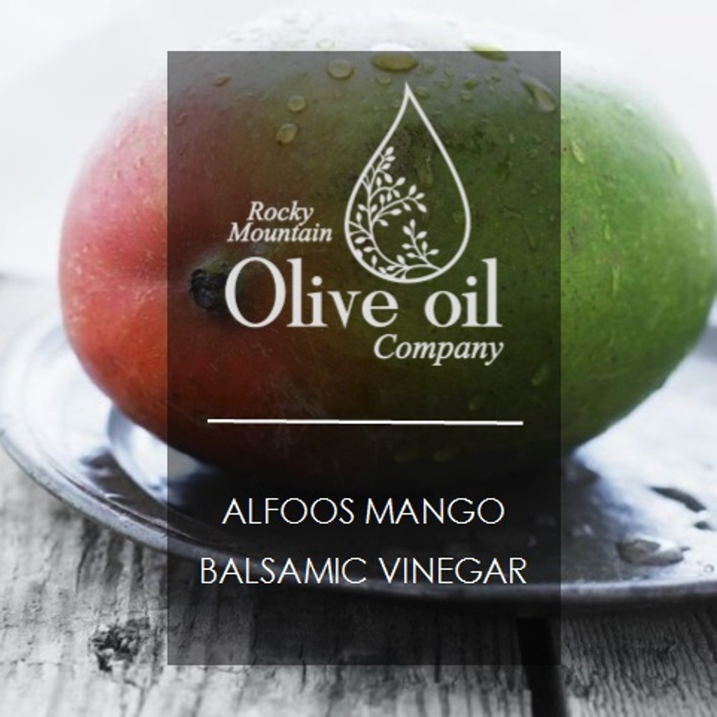 Alfoos Mango White Balsamic Vinegar 375ml