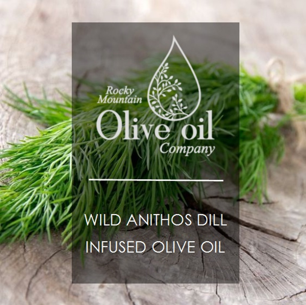 Wild Anithos Dill Infused Olive Oil 375ml