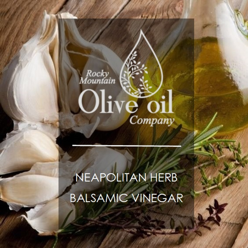 Neapolitan Herb Dark Balsamic Vinegar 375ml
