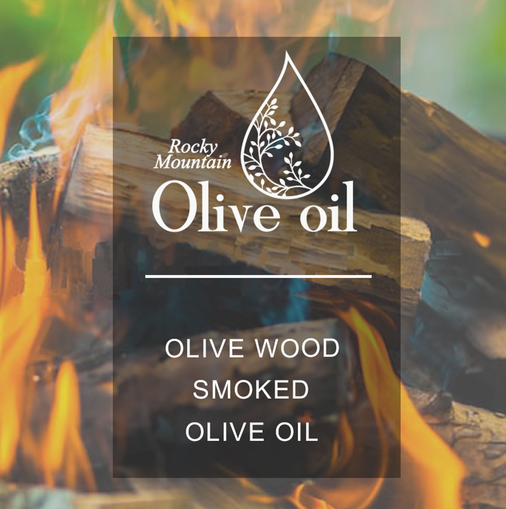Olive Wood Smoked Infused Olive Oil 375ml