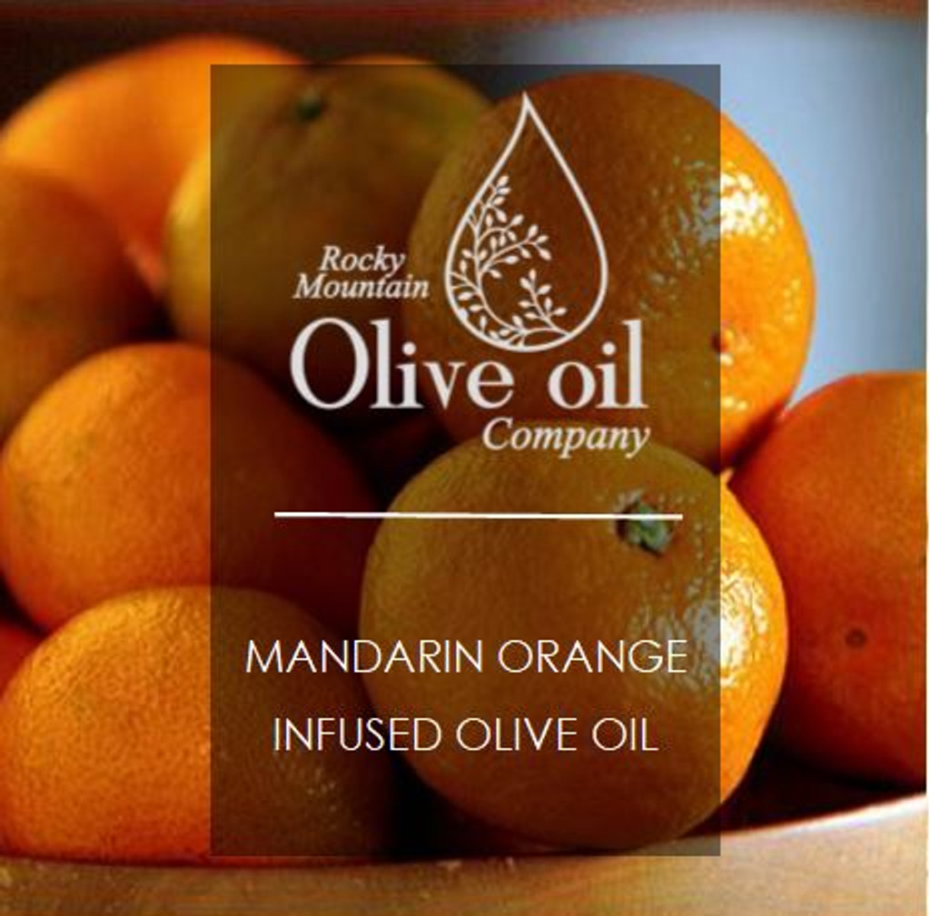 This bold citrus oil is fresh and versatile! Made with whole Mandarin Oranges pressed with olives at peak ripeness to produce maximum fragrance and flavor.  We recommend using this olive oil in baked goods - especially ones that already call for oranges or orange zest. It enhances the flavor of things  like scones, chocolate cake and bread loaves. Quinoa absorbs it really well for an extra tang to your quinoa bowl