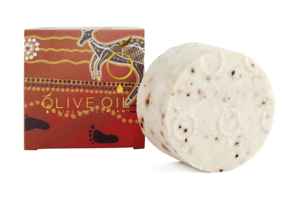 Olive Oil Skincare Handmade Quandong Soap 100g