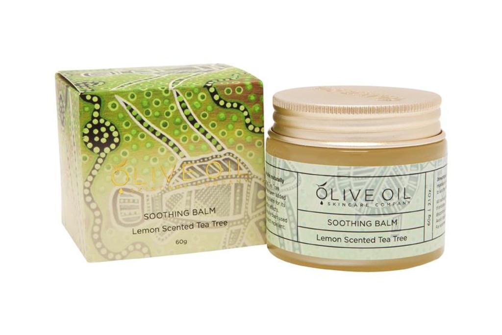 Olive Oil Skincare Lemon Tea Tree Soothing Balm 60g