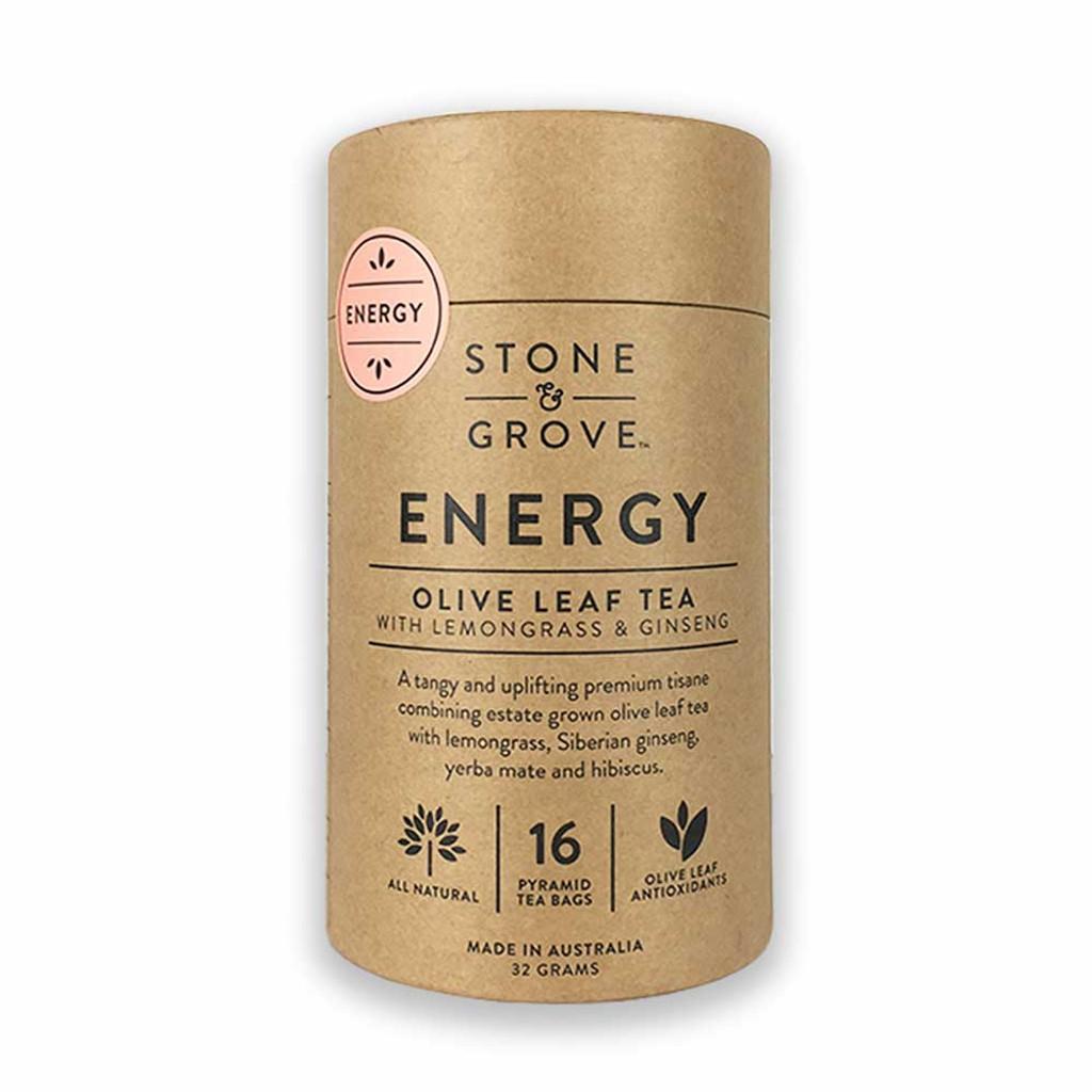 Stone & Grove Energy Olive Leaf Tea