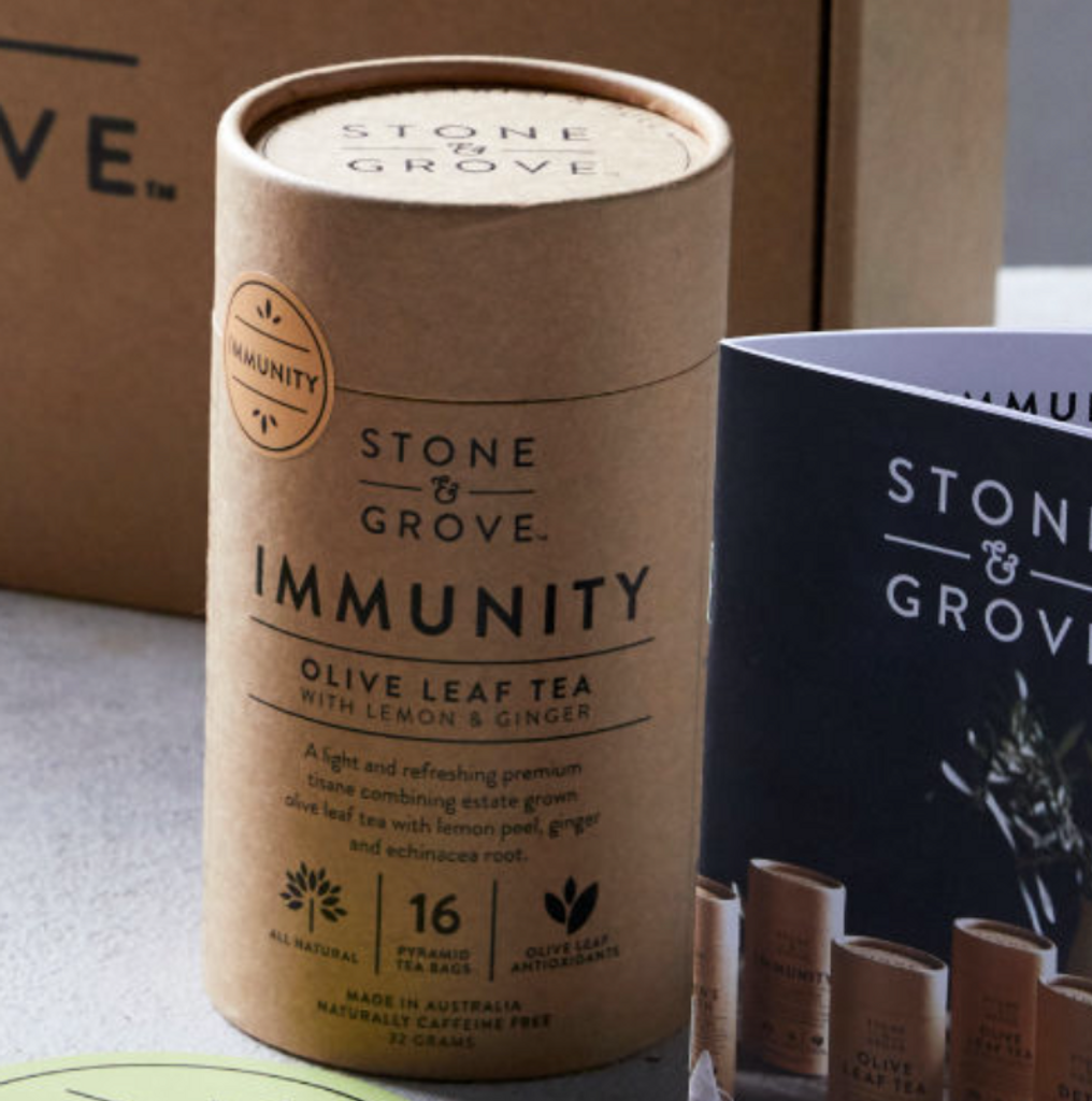 Stone & Grove Immunity Olive Leaf Tea