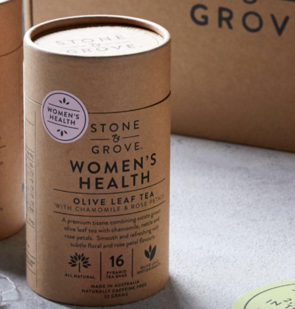 Stone & Grove Women's Health Olive Leaf Tea