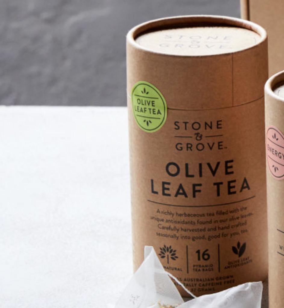 Stone & Grove 100% Olive Leaf Tea