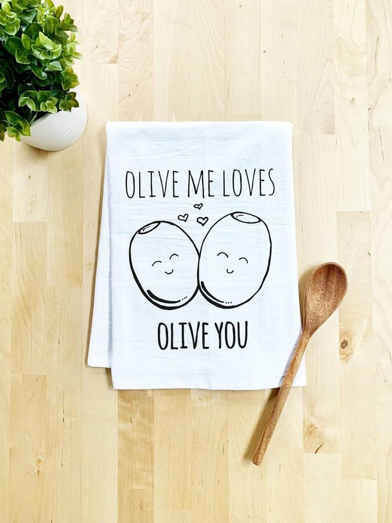 Olive Me Tea Towel