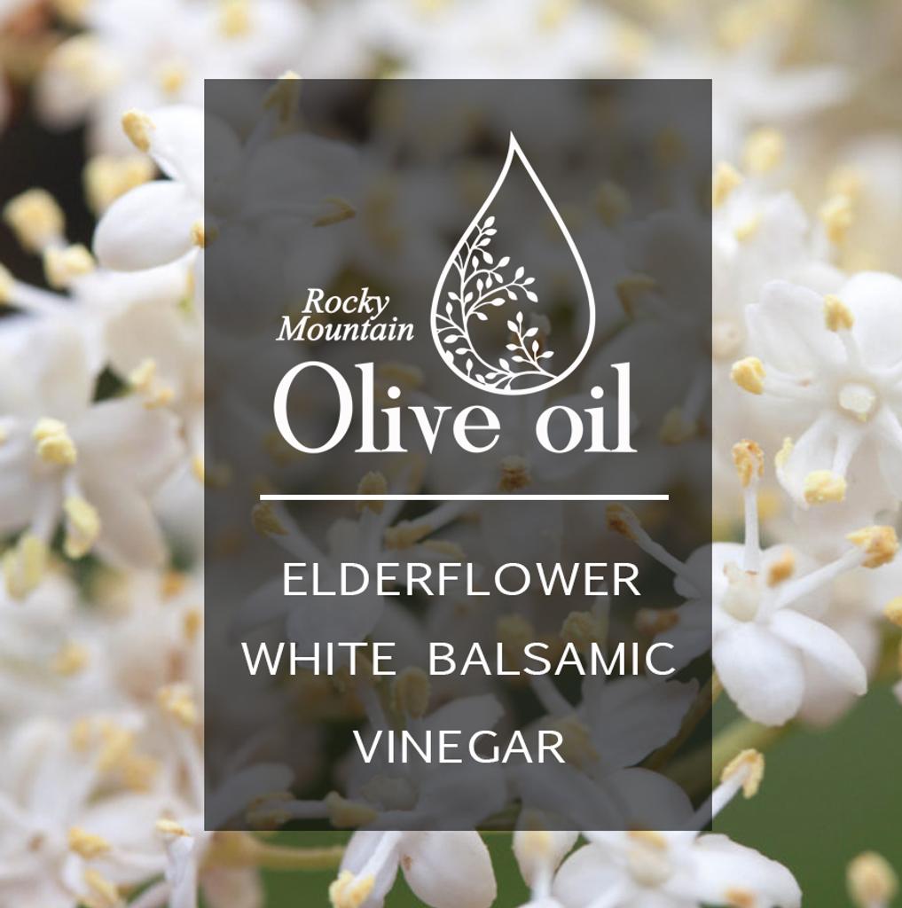 Elderflower White Balsamic Vinegar 375ml