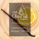 Cara Cara Orange Vanilla White Balsamic Vinegar 375ml