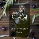 Organic Chetoui Robust Extra Virgin Olive Oil (Tunisia) 375ml