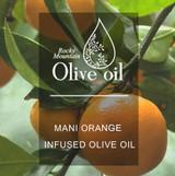 Mani Orange Infused Olive Oil 375ml
