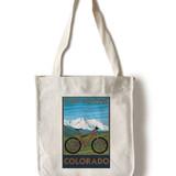 Fort Collins Bike Tote Bag