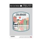 Colorado Geometric Sticker