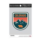 Colorado Bear & Mountains Sticker