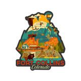 Fort Collins Adventure Sticker