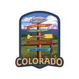 Fort Collins Destinations Sticker
