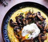 Wild Mushroom Ragu Polenta with Mascarpone