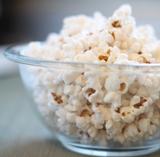 Asiago Mushroom Sage Popcorn
