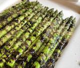 Apple Balsamic Glazed Asparagus