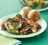 Autumn Salad with Maple Balsamic Vinaigrette