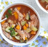 Black Peppercorn Chicken Veggie Stew
