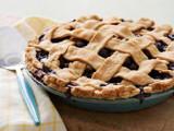 Balsamic Blueberry Pie