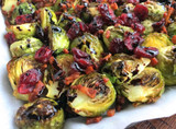 Instant Pot Maple Balsamic Bacon Brussels Sprouts