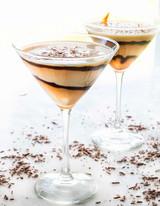 Chocolate Martini with Dark Chocolate Balsamic