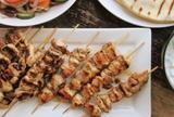 Greek Style Chicken Slouvaki