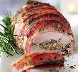 Larded Herb Pork Tenderloin