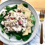 Lemon Olive Oil Waldorf Chicken Salad