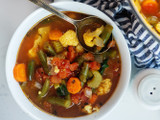 Weeknight Low Carb Veggie Soup