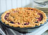 Zesty Blackberry-Ginger Pie