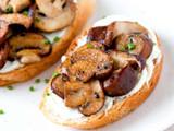 Truffled Mushroom Crostini