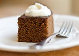 Gingerbread Cake with Butter Olive Oil