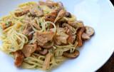 Black Truffle Pasta with Baby Bella Mushrooms