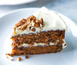 Carrot Cake with Roasted Walnut Oil