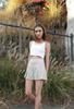 Ava Pleated Tennis Short - Tan