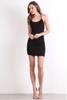 Malia Midi Dress - Black