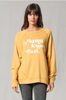 Mama Knows Best Sweatshirt Top - Gold